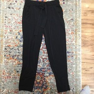 Express Mid rise Ankle jogger pants
